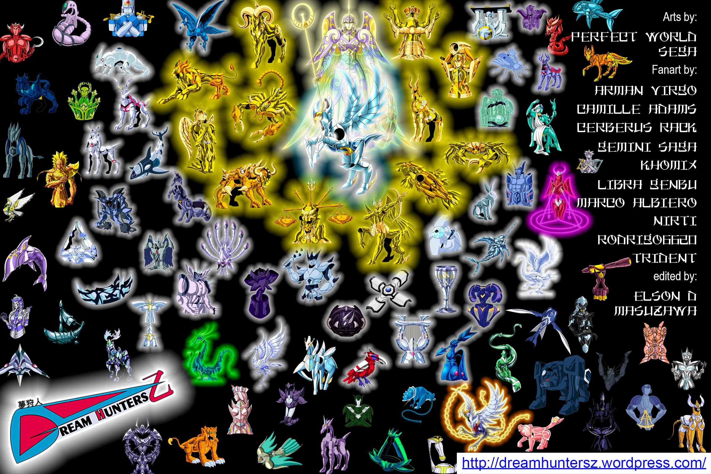 Saint Seiya - As 88 Constelações